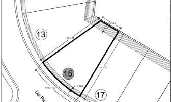 Foto de terreno habitacional en venta en del paso 15 , lomas de angelópolis, san andrés cholula, puebla, 11057692 No. 01