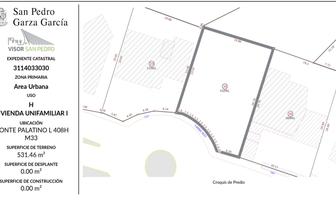 Foto de terreno habitacional en venta en  , del valle, san pedro garza garcía, nuevo león, 20804306 No. 01