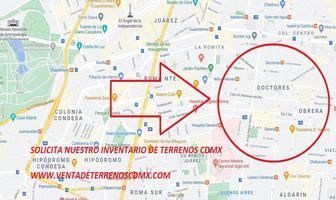 Foto de terreno habitacional en venta en doctor 30, doctores, cuauhtémoc, df / cdmx, 0 No. 01