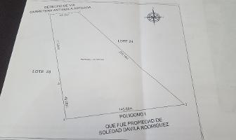 Foto de terreno habitacional en venta en doctor jesus valdes sánchez , arteaga centro, arteaga, coahuila de zaragoza, 5214757 No. 01