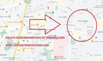 Foto de terreno habitacional en venta en doctores 30, doctores, cuauhtémoc, df / cdmx, 0 No. 01