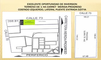 Foto de terreno habitacional en venta en  , dzitya, mérida, yucatán, 11480095 No. 01