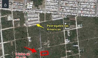 Foto de terreno habitacional en venta en  , dzitya, mérida, yucatán, 4339253 No. 01