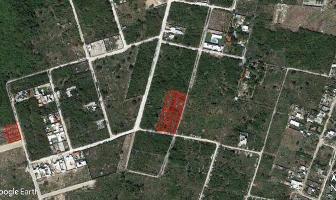 Foto de terreno habitacional en venta en  , dzitya, mérida, yucatán, 6549398 No. 01