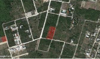 Foto de terreno habitacional en venta en  , dzitya, mérida, yucatán, 6612948 No. 01