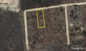 Foto de terreno habitacional en venta en  , dzitya, mérida, yucatán, 6997003 No. 01