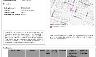 Foto de terreno habitacional en venta en Toriello Guerra, Tlalpan, Distrito Federal, 5977600,  no 01