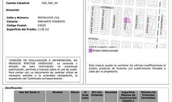Foto de terreno habitacional en venta en enrique pestalozzi 216, narvarte poniente, benito juárez, df / cdmx, 11363218 No. 01