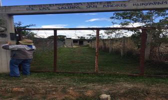 Foto de terreno habitacional en venta en esmeralda , san andres huayapam, san andrés huayápam, oaxaca, 14959492 No. 01
