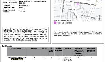 Foto de terreno habitacional en venta en  , esperanza, cuauhtémoc, df / cdmx, 14644065 No. 01