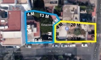 Foto de terreno habitacional en venta en  , extremadura insurgentes, benito juárez, df / cdmx, 11968571 No. 01
