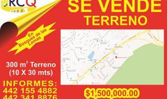Foto de terreno habitacional en venta en Bosques de las Lomas, Querétaro, Querétaro, 5197517,  no 01