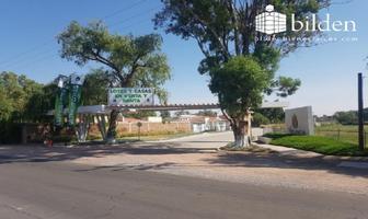Foto de terreno habitacional en venta en  , fraccionamiento campestre residencial navíos, durango, durango, 8735455 No. 01