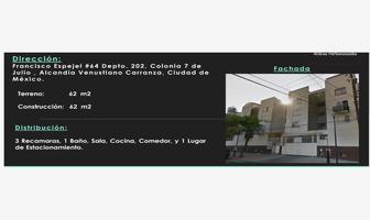 Foto de departamento en venta en francisco espejel 64, 7 de julio, venustiano carranza, df / cdmx, 10321607 No. 01