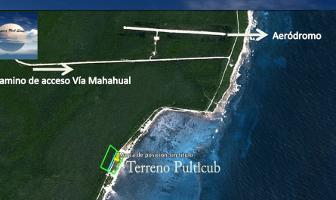 Foto de terreno habitacional en venta en frente al mar , mahahual, othón p. blanco, quintana roo, 15992276 No. 01