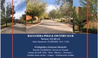 Foto de terreno habitacional en venta en fundadores 1, balvanera polo y country club, corregidora, querétaro, 12789398 No. 01