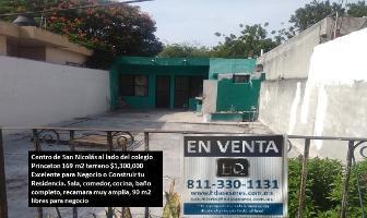 Foto de casa en venta en gonzalitos , san nicolás de los garza centro, san nicolás de los garza, nuevo león, 10859535 No. 01