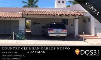 Foto de casa en venta en guaimas , country club, guaymas, sonora, 15992199 No. 01