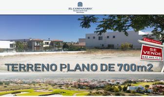 Foto de terreno habitacional en venta en hacienda el campanario , el campanario, querétaro, querétaro, 0 No. 01