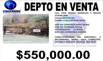 Foto de departamento en venta en huitzillin 25, josé maria morelos y pavón, iztapalapa, df / cdmx, 11428573 No. 01