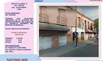 Foto de terreno comercial en venta en ignacio allende , centro (área 1), cuauhtémoc, df / cdmx, 14240880 No. 01
