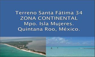 Foto de terreno habitacional en venta en  , isla mujeres, isla mujeres, quintana roo, 11704153 No. 01