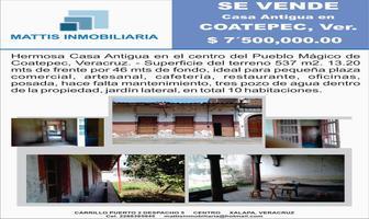 Foto de casa en venta en jimenez del campillo , coatepec centro, coatepec, veracruz de ignacio de la llave, 6498278 No. 01