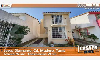 Foto de casa en venta en joyas diamante 401, miramapolis, ciudad madero, tamaulipas, 0 No. 01