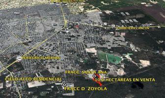 Foto de terreno habitacional en venta en  , kanasin, kanasín, yucatán, 10972567 No. 01