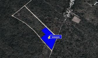 Foto de terreno habitacional en venta en  , kanasin, kanasín, yucatán, 14259057 No. 01