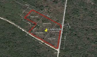 Foto de terreno habitacional en venta en  , kanasin, kanasín, yucatán, 18390570 No. 01