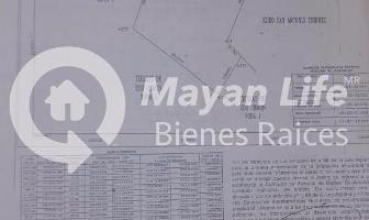 Foto de terreno habitacional en venta en  , kanasin, kanasín, yucatán, 6766673 No. 01