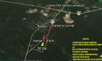 Foto de terreno habitacional en venta en kilometro 32 , xtepen, umán, yucatán, 4212184 No. 01