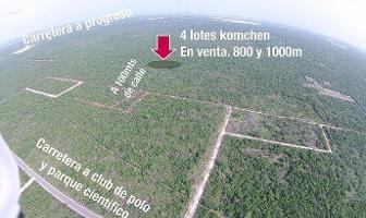 Foto de terreno habitacional en venta en  , komchen, mérida, yucatán, 11731884 No. 01