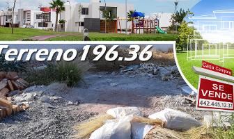 Foto de terreno habitacional en venta en la condesa juriquilla , cumbres del lago, querétaro, querétaro, 0 No. 01