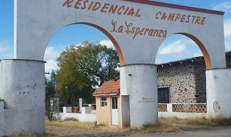 Foto de terreno habitacional en venta en  , la esperanza, colón, querétaro, 5726539 No. 01