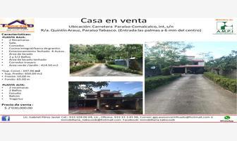 Foto de casa en venta en las palmas , quintín arauz, paraíso, tabasco, 12222810 No. 01