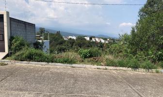 Foto de terreno habitacional en venta en loma sol , loma sol, cuernavaca, morelos, 16802087 No. 01