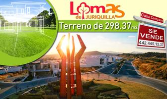 Foto de terreno habitacional en venta en lomas de juriquilla , loma juriquilla, querétaro, querétaro, 14366301 No. 01