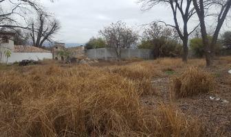 Foto de terreno habitacional en venta en  , los molinos, saltillo, coahuila de zaragoza, 12812720 No. 01