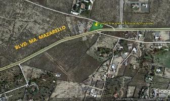 Foto de terreno habitacional en venta en  , los valdez, saltillo, coahuila de zaragoza, 11710876 No. 01