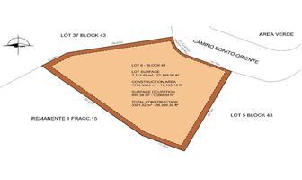 Foto de terreno habitacional en venta en lot 6 block 43 camino bonito oriente , el pedregal, los cabos, baja california sur, 6441571 No. 01