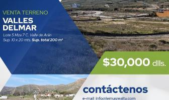 Foto de terreno habitacional en venta en  , mar de calafia, playas de rosarito, baja california, 11762687 No. 01
