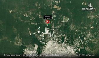 Foto de terreno habitacional en venta en  , mérida, mérida, yucatán, 14198947 No. 01