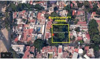 Foto de terreno habitacional en venta en miguel kramer , atlántida, coyoacán, df / cdmx, 12200973 No. 01