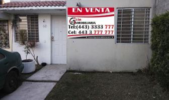 Foto de casa en venta en  , mision del valle, morelia, michoacán de ocampo, 6583761 No. 01