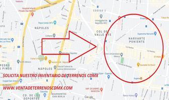Foto de terreno habitacional en venta en narvarte 30, narvarte poniente, benito juárez, df / cdmx, 0 No. 01