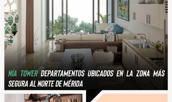 Foto de departamento en venta en nia tower , villas la hacienda, mérida, yucatán, 13927574 No. 01