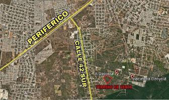 Foto de terreno habitacional en venta en  , nueva kukulkan, mérida, yucatán, 4292133 No. 01