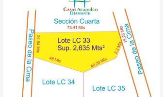 Foto de terreno habitacional en venta en paseo de la cima, la cima, parque el veladero la cima, la cima, acapulco de juárez, guerrero, 5589337 No. 01